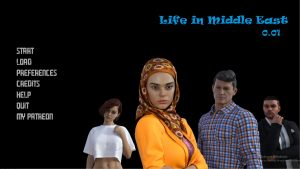 Life in Middle East –  New Version 0.8 [LustfulFantasy]
